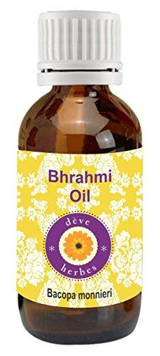 dève Kit para Pure Brahmi aceite (Bacopa monnieri) 100% natural (grado Terapéutico, 5 ml – 1250 ml)