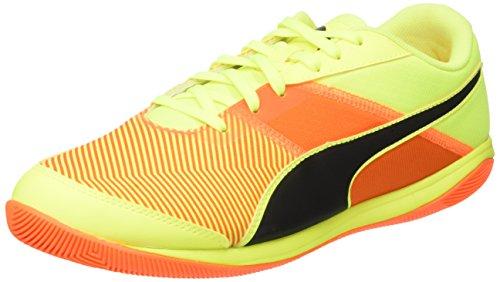 Puma nevoa lite v3, scarpe da calcio uomo, giallo (safety yellow black-shocking orange 08), 46 eu