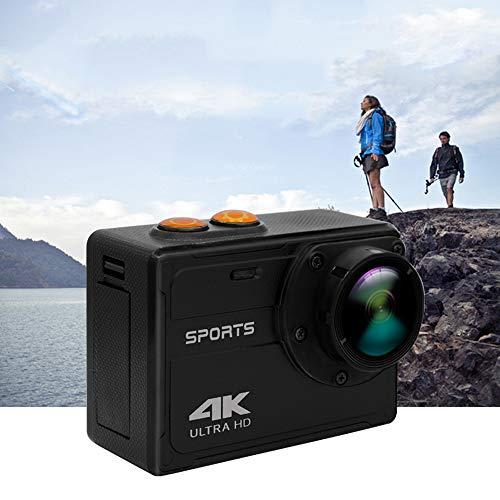 JZWX 4K Sport-Kamera, WiFi Fernbedienung Sport DV, Wasserdichtes Gehäuse, Outdoor-Tauchsport-Kamera, 2,0-Display, 170 ° Weitwinkel
