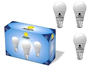 atapa 3 x a60 b22 led lampe 10 watt ersetzt 70w 850 lumen. Black Bedroom Furniture Sets. Home Design Ideas