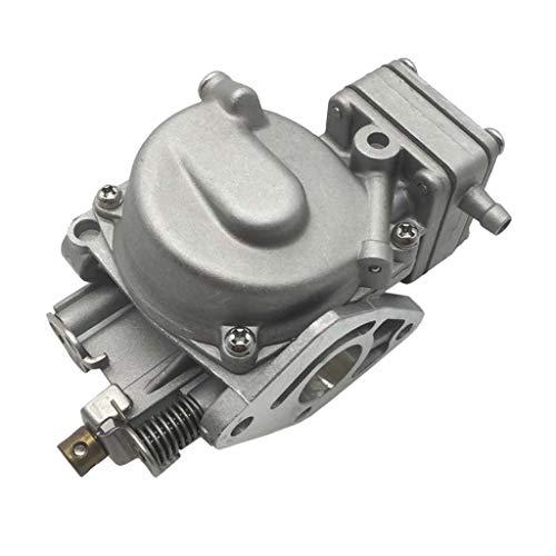 SDENSHI Aluminium Vergaser Ersatzvergaser Ersatz für Nissan 2-Stroke 5 PS Außenbordmotor