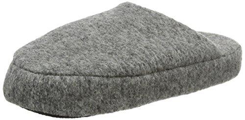 Woolsies Herren Yosa Natural Wool Mule Hausschuhe Grau