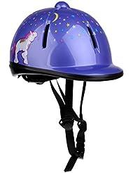 Gazechimp Casque D'equitation Enfant Tête Sécurité Accessoire Cavalier Équipement Protection