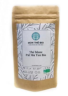 Thé blanc Paï Mu Tan BIO - Sachet 65g - certifié agriculture biologique
