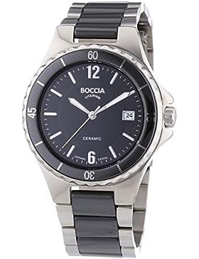 Boccia Damen-Armbanduhr Analog Quarz Keramik 3215-02