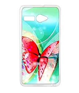LAVA IRIS ATOM 2X SILICON BACK COVER BY aadia