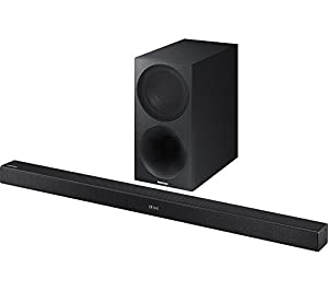 SAMSUNG HW-M460/XU 2.1 Channel Soundbar 320W Wireless Sound Bar Black - (TV & Audio > Sound Bars)