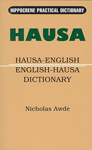 Hausa-English/English-Hausa Practical Dictionary (Hippocrene Practical Dictionaries)