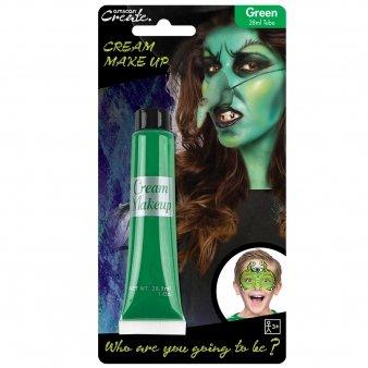 Create Grün Gesichtsfarbe Halloween Kostüm Party Creme-rohr