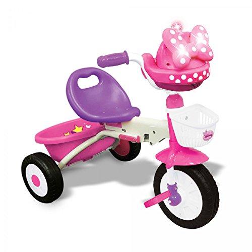 Triciclo Topolina Minnie Pieghevole con Luci e Suoni per Bambini
