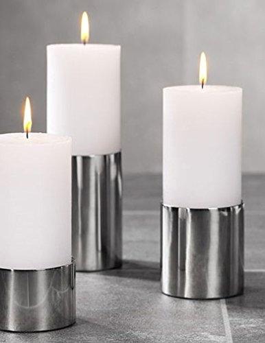 Leuchter SUB, Kerzenleuchter, Edelstahl, 5 cm, Kaheku