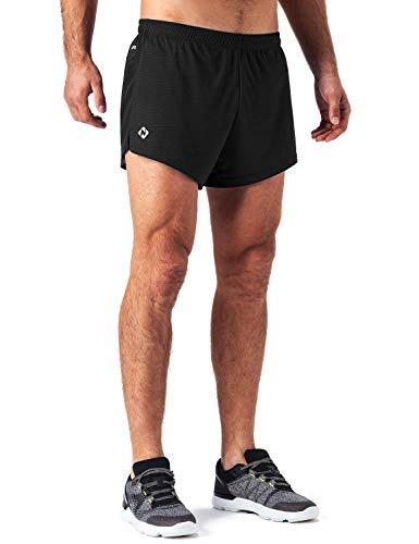 """NAVISKIN Pantaloncini Uomo da Corsa, Pantaloni 3"""" Corti da Running da Uomo, Asciugatura Rapida, Allenamento Attivo Traspirante, Pantaloncini Leggero per..."""