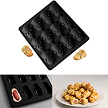 Cerdo Lindo Moldes de Silicona para Repostería - Molde De Silicona Para Magdalenas Muffins - Moldes 3D para Pastel Mazapán Fondant Jelly Chocolate y Jabón ...