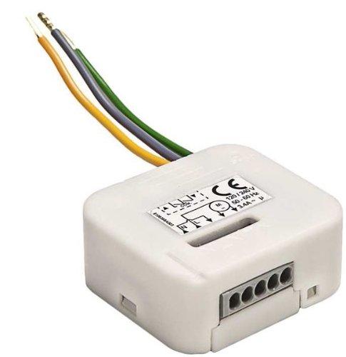 Programmierbare Lichtsteuerung (Licht Simu Mikro-Empfänger Hz02 für Simu Hz-Funksystem und Somfy RTS Funksystem ( Lichtsteuerung ) 230V / 500 Watt)