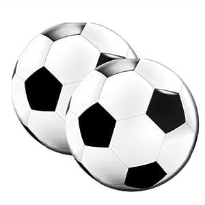Fu ball Servietten rund Party Soccer 20 St ck Geburtstag Fu ballparty