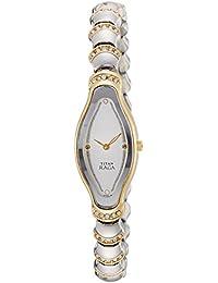 (Renewed) Titan  Analog Silver Dial Womens Watch - 2395BM01