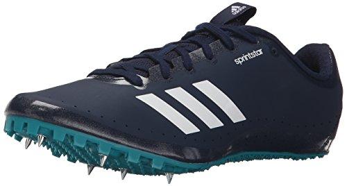 Adidas Performance Sprint W Laufschuhe, wei� / wei� / grün, 5 M Us White/White/Green