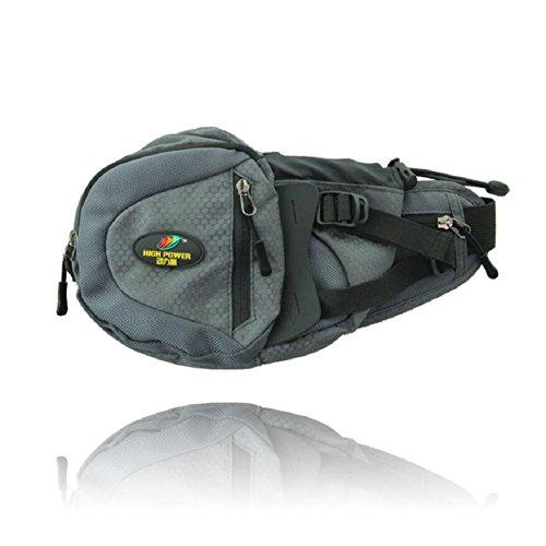 ZC&J Outdoor-Sporttaschen, multifunktionale tragbare Taschen, verschleißfeste praktische, verstellbare Gürtel, Männer und Frauen Universal-Modetaschen D