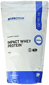 Myprotein Impact Whey Protein Blueberry, 1er Pack (1 x 1 kg)