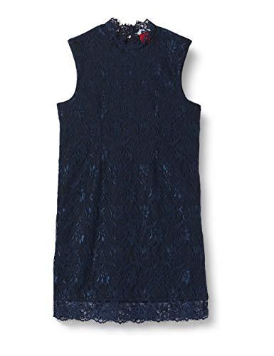 s.Oliver Mädchen 73.911.82.5340 Kleid, Blau (Dark Blue 5952), 170 (Herstellergröße:170/REG)