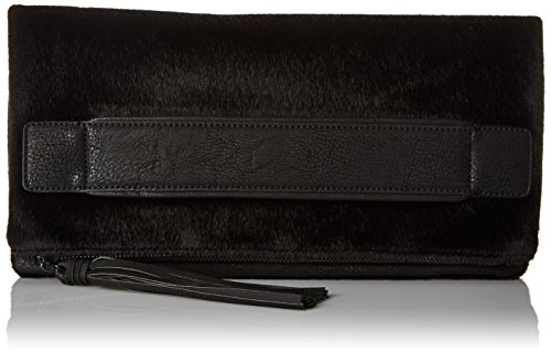 BCBGeneration Ready To Roll Clutch Donna Nero