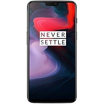 OnePlus 6 Smartphone Débloqué 4G (Ecran : 6,28 Pouces - 6 Go RAM - 64 Go Stockage - Double SIM - Android) Mirror Black [écouteurs OnePlus Bullets V2 Inclus]