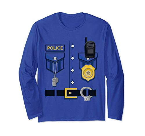 Girl Cop Halloween Outfit - Kids Police Officer Costume - Halloween