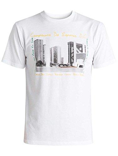Herren T-Shirt DC Iqui Brazil T-Shirt Snow White