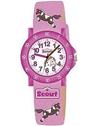 Scout Mädchen-Armbanduhr Analog Quarz Textil 280375000
