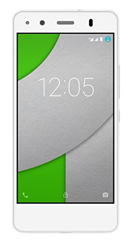 BQ Aquaris A4.5 - Smartphone de 4.5 pulgadas (WiFi, Bluetooth 4.0, GPS, Quad Core Cortex A53 1 GHz, 16 GB de memoria interna, 2 GB de RAM, Android 5.1 Lollipop), color blanco