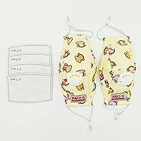 Cotton PM2.5 Aktivkohlemaske für Kinder, atmungsaktive Baumwoll-Mundmasken mit austauschbarem Filter preisvergleich bei billige-tabletten.eu