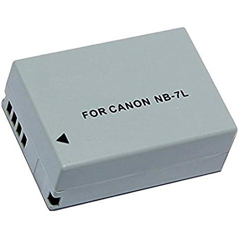 Batteria di ricambio Canon NB-7L Batteria Ricaricabile per Canon Powershot SX30 IS, G12, SX30IS, G11, G10 Fotocamera Digitale