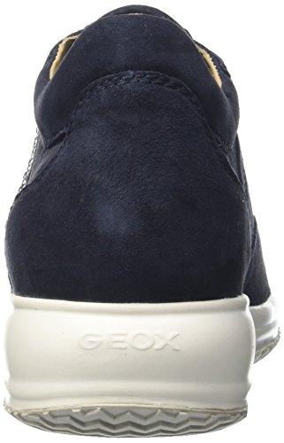 Geox D Happy C, Scarpe da Ginnastica Basse Donna Blu (DK NAVYC4021)