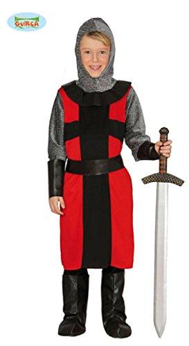 Costume Cavaliere Feudale TG 5/6 ANNI Travestimento Carnevale