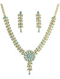 Touchstone Ethnic Look Colourful Necklace Set For Women