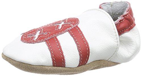 57987026acf69 Hobea Germany HOEF085418 Chaussons Bébé en Cuir Doux Sneaker Design 26 27  (30-