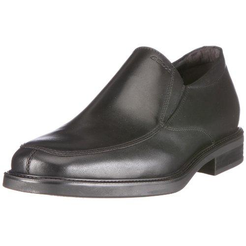 Geox U Londra E, Chaussures de ville homme Noir (C9999)