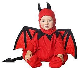 Disfraz de Diablo o Demonio para Bebé. Incluye gorro, mono, alas y rabo. Ideal en fiestas de terror como Halloween. ¡Compra en un ecommerce que cumple con todas las normativas de la U.E., compra en Disfrazzes!