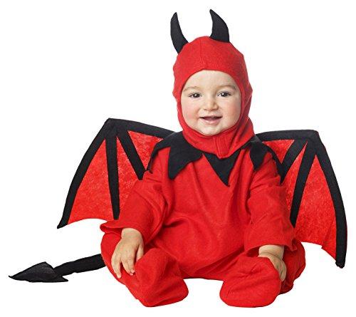 My Other Me - Disfraz de diablillo bebé para niño, 1-2 años (Viving Costumes 203261)