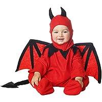 My Other Me Me-205058 Disfraz de diablillo bebé para niño, 1-2 años (Viving Costumes 203261)