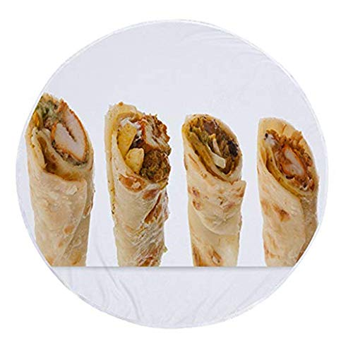 TianranRT Decke werfen Tortilla Textur weich Fleece werfen Decke Super weich (C) - Decke Diffusor