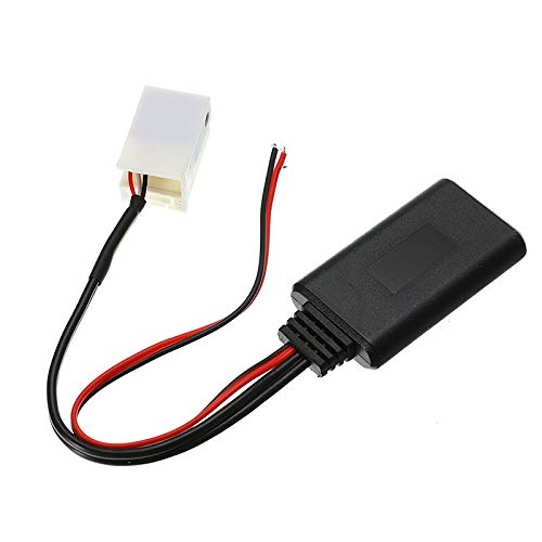 Gallocabe Bluetooth Auxux Bluetooth Aux Cable Adaptador de Audio