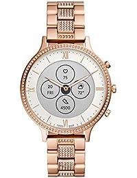 Fossil Charter Hybrid Hr Smartwatch White Dial Women's Watch - FTW7012