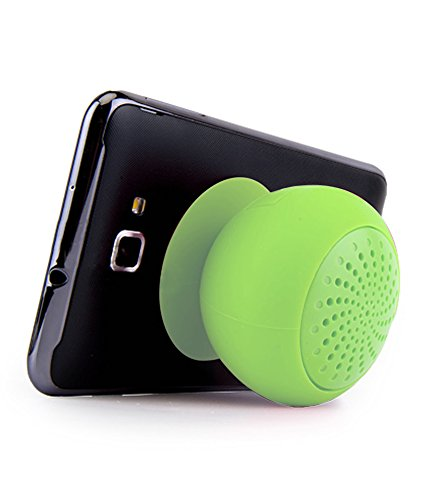 DMG Waterproof Bluetooth Suction Speaker Stand for iPhone/iPad/Mobiles/Tablets (Green)