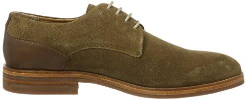 H.D. Hudson Mfg Co. Enrico Suede 40, Chaussures à lacets homme Marron (tabac)