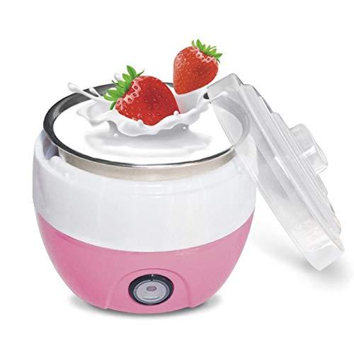 iuyem Tragbares automatisches Haushalts-Minijoghurt-Maschinen-Küchenwerkzeug Joghurtgetränke & Molke