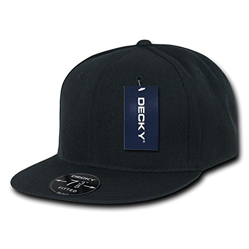 Decky Retro Spannbettlaken Kappen Head Wear, Herren, Schwarz, Size 27 Preisvergleich