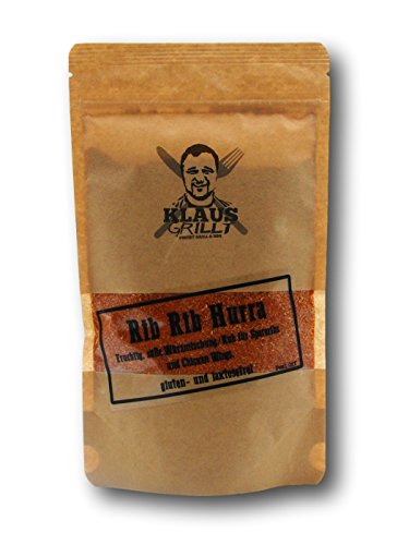 Preisvergleich Produktbild Klaus grillt Rib Hurra Rub,  1er Pack (1 x 250 g)