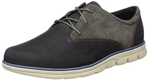 Timberland Bradstreet Pt Oxfordpewter Saddleback, Oxford Homme, Noir (Pewter Saddleback), 40 EU