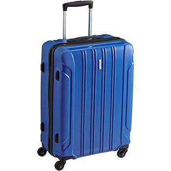 Travelite Valise Colosso Avion 4 Roulettes M 65 cm 72 L (Bleu) 82627